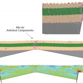 Modelo de elementos discretos de subsidencia diferencial en Cuenca Neuquina.
