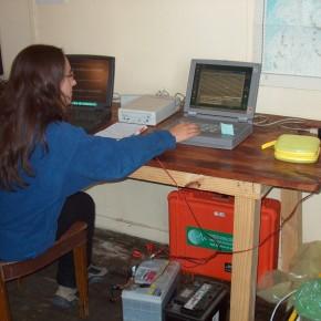 Analizando registros sísmicos en Observatorio Volcanológico Decepción (Antártida)