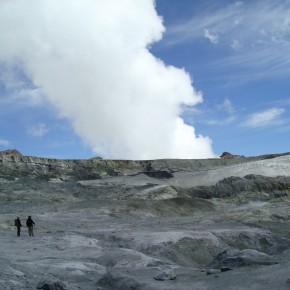 Estudios geoquimicos en fumarolas del cráter del volcán Planchón-Peteroa (Mendoza)