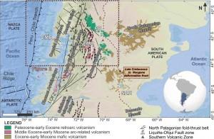 Marco tectónico de los Andes Patagónicos septentrionales.