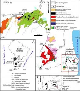 Márgenes conjugados entre Patagonia y Antártida del Paleozoico temprano: Un magmatismo silíceo cámbrico sincrónico, datado por U-Pb en K-bentonitas y rocas volcanogénicas asociadas