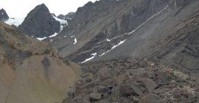 Dacitas miocenas emplazadas en grietas de cizalla con dilatación positiva en la Formación Tordillo, asociadas a ka avalancha de rocas en Las Cuevas, Cordillera Principal, Mendoza.