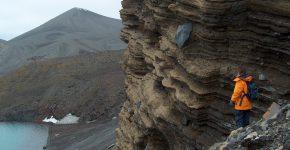 Depósitos piroclásticos de isla Decepción (Antártida)