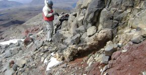 Estudios volcanológicos en volcán Copahue (Neuquén)