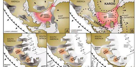 La Patagonia el el contexto del Gondwana.