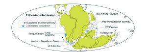 Registros del género Lytohoplites en el sur de Gondwana y su posible vía de dispersión