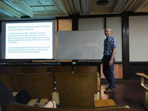 Conferencia del Dr. Wetzel