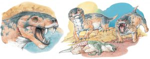 Reconstrucción de Vetusodon por Gabriel Lio