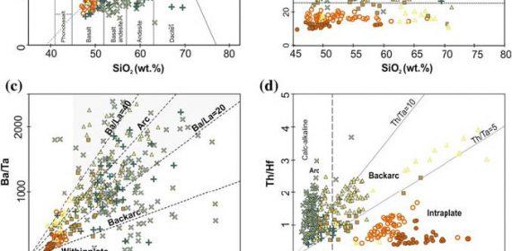 El magmatismo mioceno en las fajas plegadas y corridas de Malargüe y Chos Malal