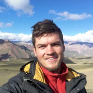 Dr. Lucas Fennell, ganador del Premio Storni 2018 de la Asociación Geológica Argentina