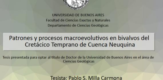 Defensa de Tesis Doctoral – Pablo S. Milla Carmona