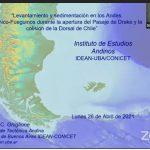 Ciclo de Charlas del IDEAN 2021 – Evolución cenozoica Andes Patagónicos-Fueguinos