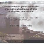 Ciclo de charlas del IDEAN 2021 – Conviviendo con gases volcánicos