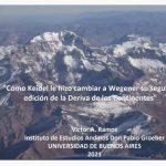 Ciclo de Charlas del IDEAN 2021 – Cómo Keidel le hizo cambiar a Wegener su segunda edición de la Deriva de los Continentes